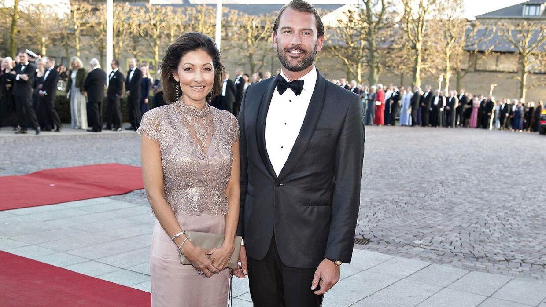 Grevinde Alexandra med Martin Jørgensen.