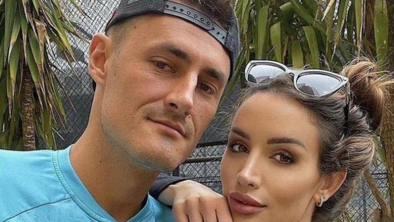 Bernard Tomic og Vanessa Sierra. Foto: Instagram.