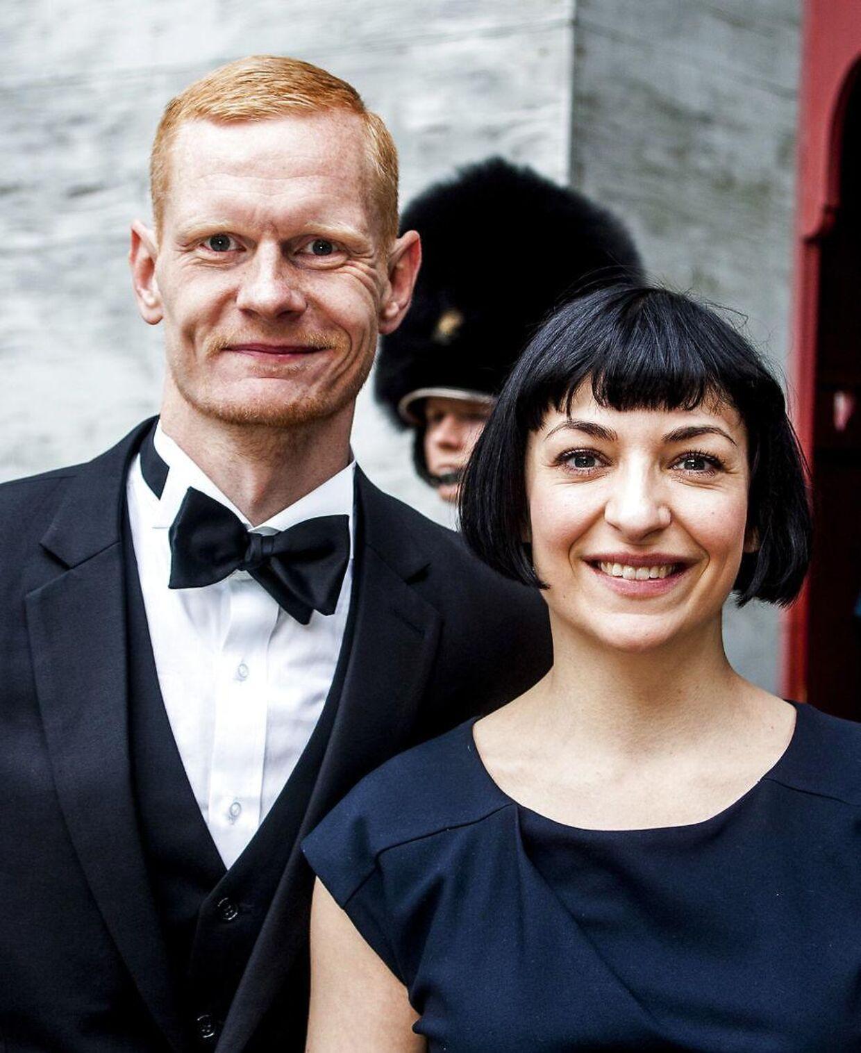 Peter Plaugborg og Elisa Kragerup har været venner i 15 år. Her ses de i 2016.