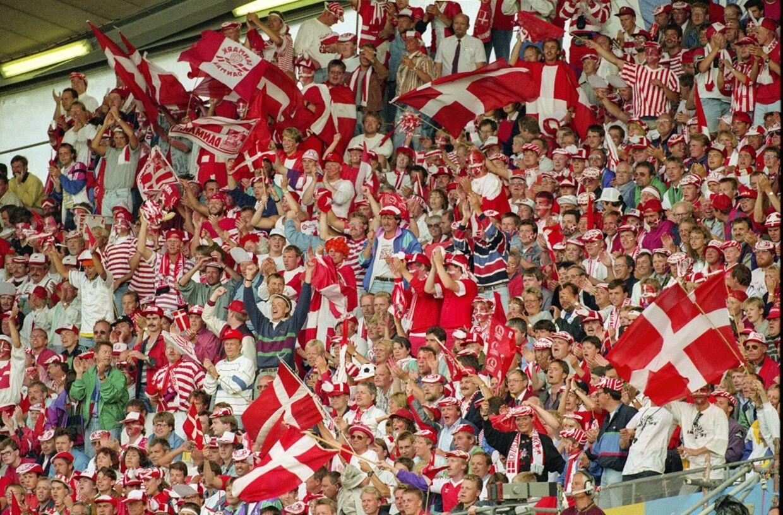Der var fantastisk stemning, da Danmark vandt EM i 1992. Nu kan du komme med til en ny fodboldfest (Foto: Per Kjærbye)