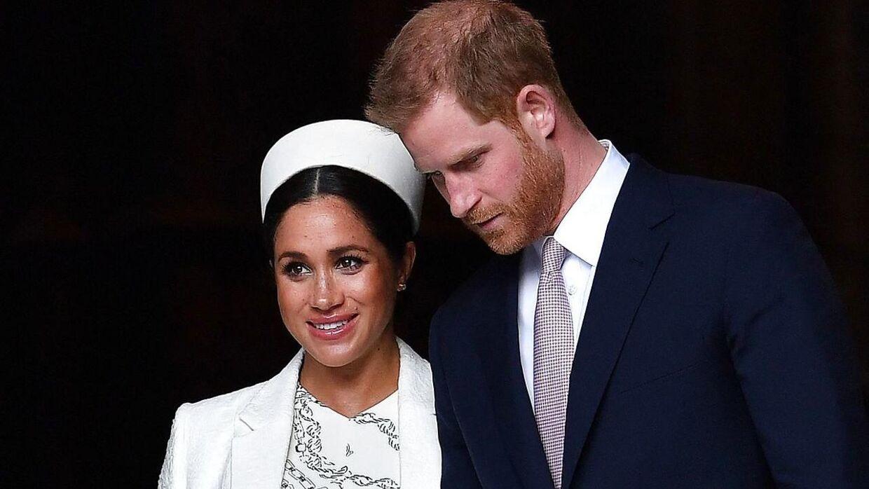 Prins Harry og Meghan.