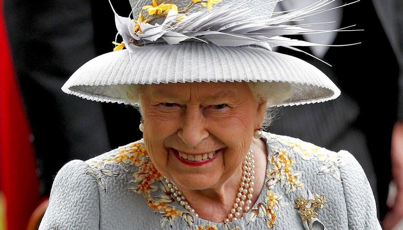 Dronning Elizabeth.
