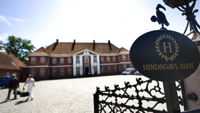 Arkivfoto af Hindsgavl Slot.