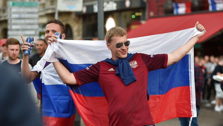 Russiske fans bliver formentlig ikke en del af fanbilledet i København, når EM går i gang.