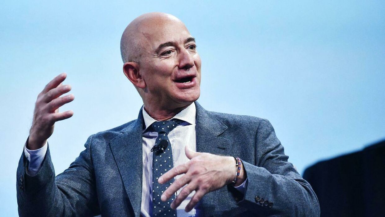 Arkivfoto, Jeff Bezos.