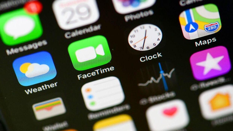 FaceTime er blandt de funktioner, der bliver påvirket.