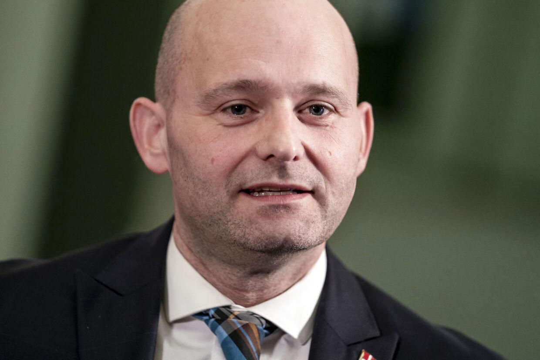 Søren Pape Poulsen (KF) ankommer til møde i Statsministeriet om en yderligere genåbning af landet, på Christiansborg torsdag den 18. marts 2021.. (Foto: Mads Claus Rasmussen/Ritzau Scanpix)