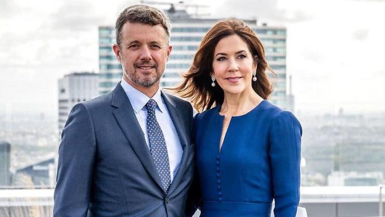 Kronprins Frederik og Kronprinsesse Mary i 2019.