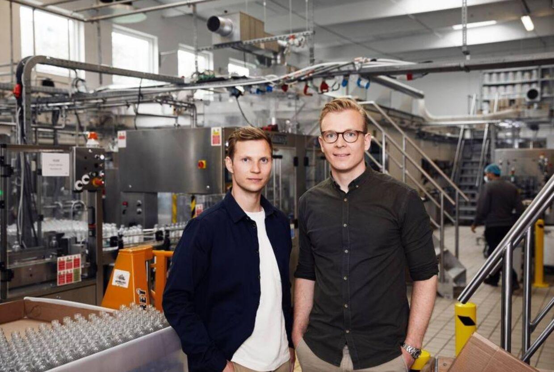Direktør Søren Aamand (th) og økonomichef Anders Houmann.