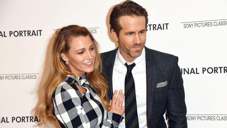Blake Lively danner privat par med skuespilleren Ryan Reynolds.