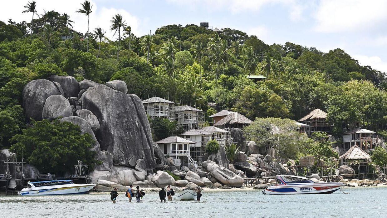 Den thailandske ø Koh Tao har igen dannet rammen om mystiske turist dødsfald (Arkivfoto).