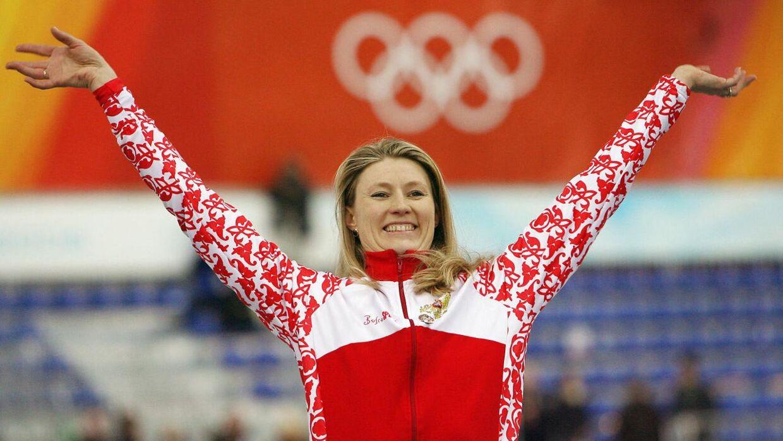 Svetlana Zhurova da hun i 2006 vandt olympisk guld i hurtigskøjte-løb i Torino. Nu er hun blevet politiker. Og hun er utilfreds med dansk politi.