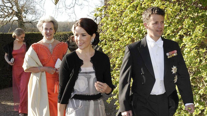 Kronprins Frederik har flere gange været på Valdemars Slot til barnedåb og andre fester.