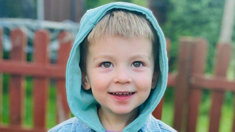 Tre-årige Julian.