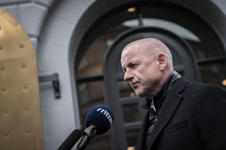 Martin Geertsen (V) mener, at de nye sundhedsklynger ikke vil fungere uden flere patientrettigheder. Emil Helms/Ritzau Scanpix