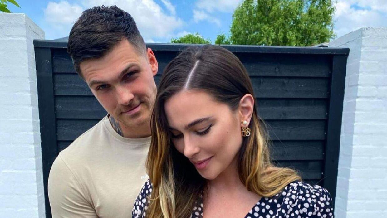 Patrick Brylov og Michala Brylov venter deres første barn.