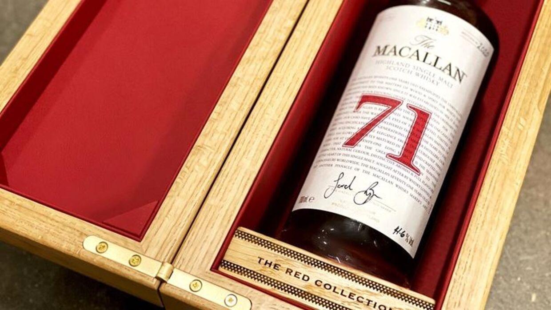 The Macallan 71 års er blot en af de uhyre eftertragtede flasker i samlingen.