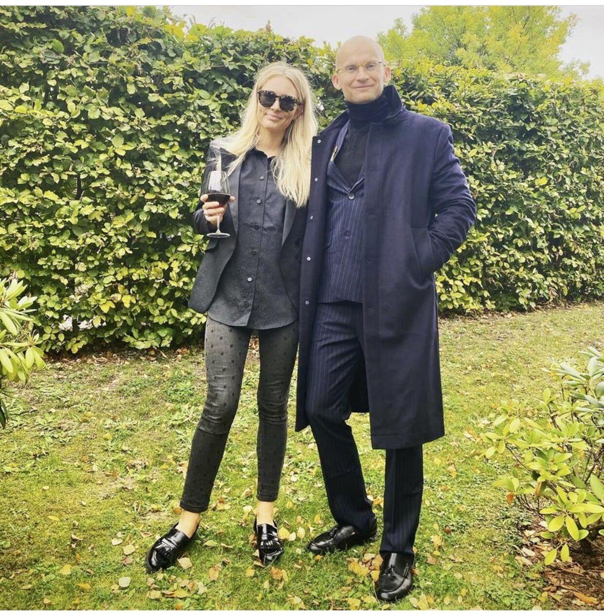 Christian Stadil med sin kone, Alice Rosenkranz Stadil.