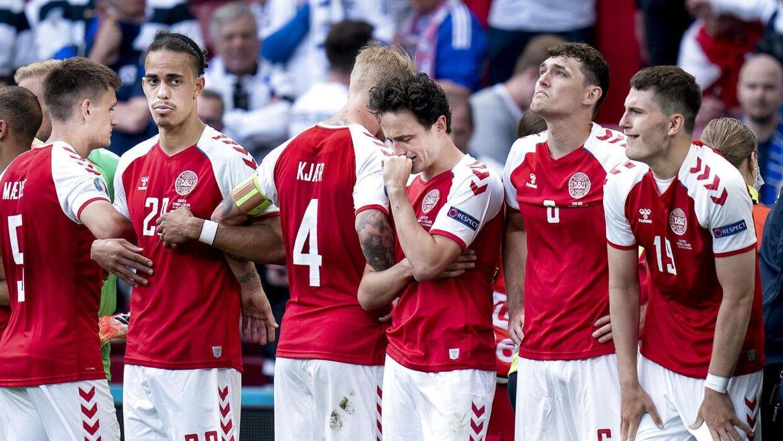 Spillerne på det danske landshold var dybt berørte over oplevelsen i Parken.