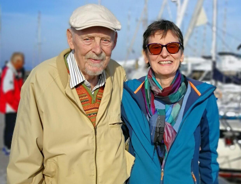 Kurt Anker Søborg og Monika Bellmann.