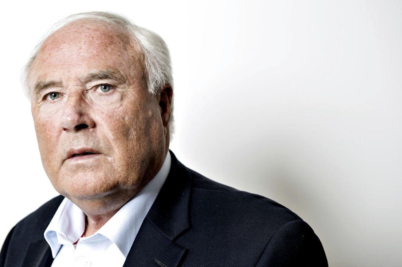 Flemming Østergaard, tidligere formand for bestyrelsen i Parken Sport & Entertainment.