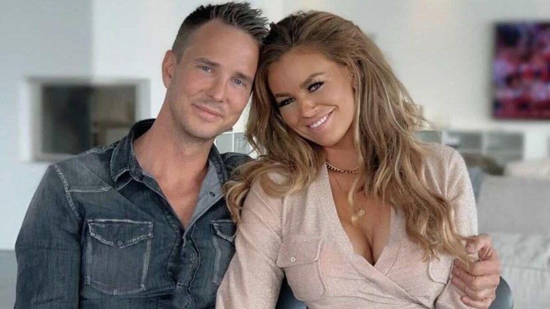 Anders Bjergegaard med sin nye kæreste, Christina Odorico.