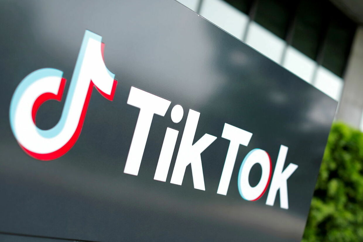 FILE PHOTO: The TikTok logo is pictured outside the company's U.S. head office in Culver City, California, U.S., September 15, 2020. REUTERS/Mike Blake/File Photo