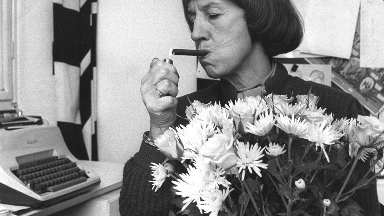 Lise Nørgaard røg i mange år cerutter.