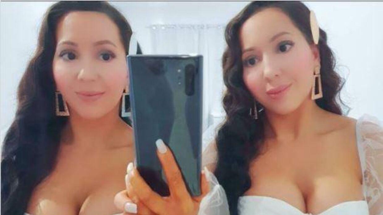 Anna and Lucy DeCinque er tvillinger og skal giftes med samme mand. Foto: Instagram.