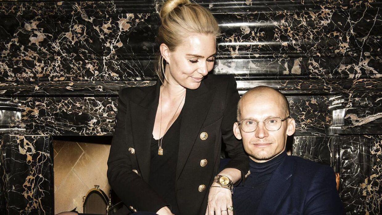 Christian Stadil med sin kone, Alice.