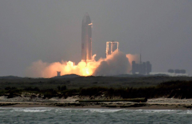 Affyring i maj 2021 ved SpaceX' faciliteter.