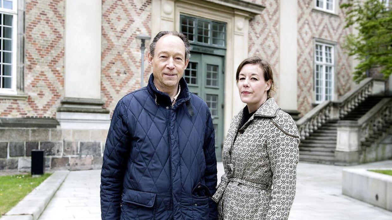 Erik Danneskiold-Samsøe og hans datter, Erica Danneskiold-Samsøe, kæmpede længe for at få Gisselfeld Slot tilbage.