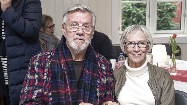 Morten Grunwald og hans kone Lily Weiding.