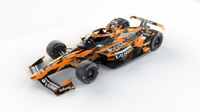 McLarens IndyCar-racer, som den så ud i Indy 500.