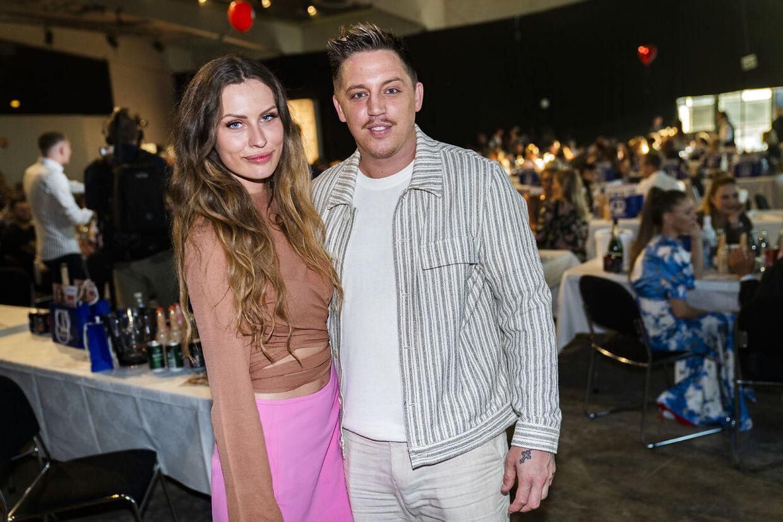 Nicki Bille og Cecilie Le Dous til Reality Awards 2021.