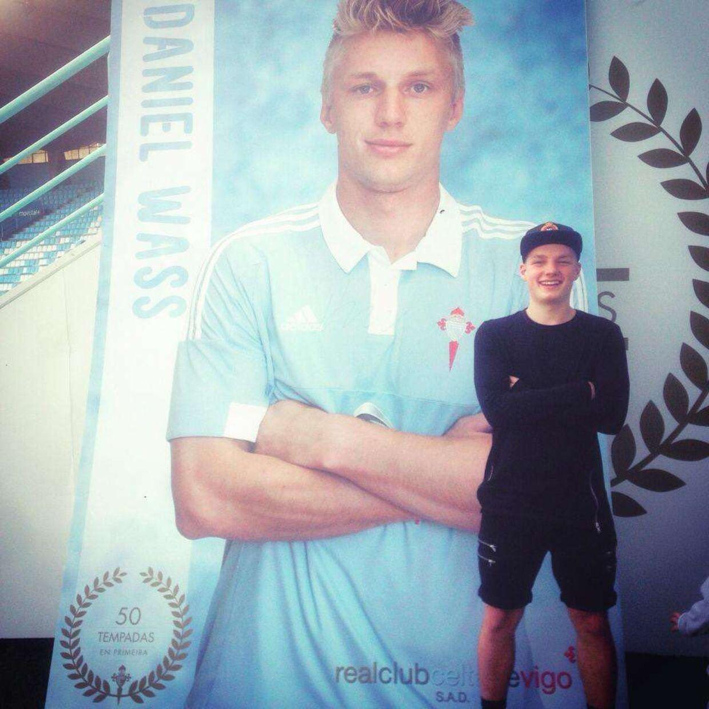 Da Daniel Wass spillede i en den spanske klub Celta Vigo boede lillebror Emil hos ham i ti måneder.