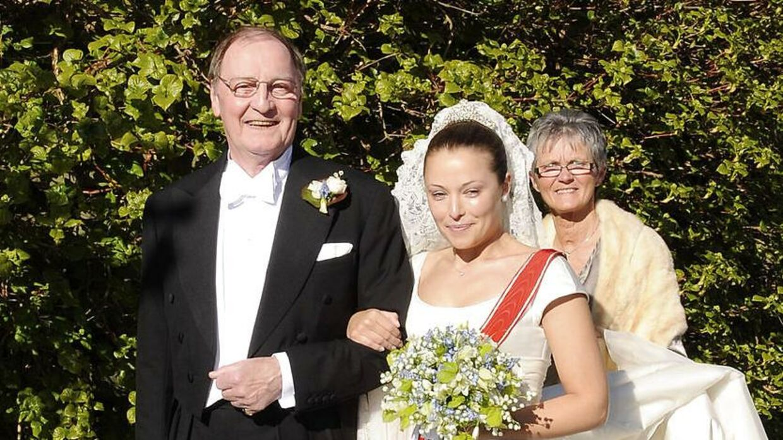 Louise Iuel- Brockdorff ses her i 2009, da hun blev gift med Nikolaj Albinus og blev til fru Albinus.