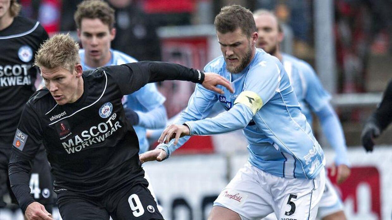 Niels Lodberg har også båret anførerbindet for klubben, han nu forlader.