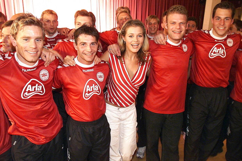 Søren Poppe lavede i 2002 VM-landsholdets sang 'Danmarks drenge'.