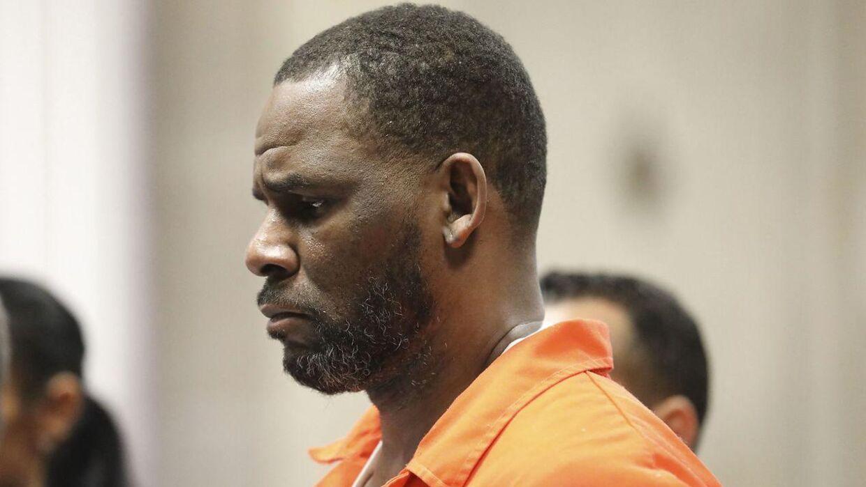 R. Kelly ved høring i Leighton Criminal Courthouse i Chicago, 17. september 2019.