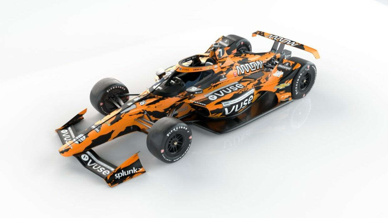 Alle bilerne i IndyCar-serien kommer fra den italienske racerbilsfabrik Dallara.