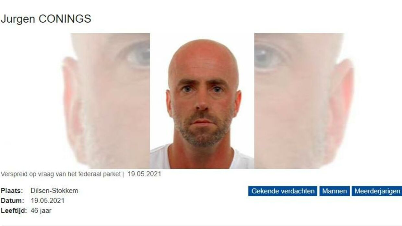 46-årige Jurgen Conings (Foto: Belgisk Politi)