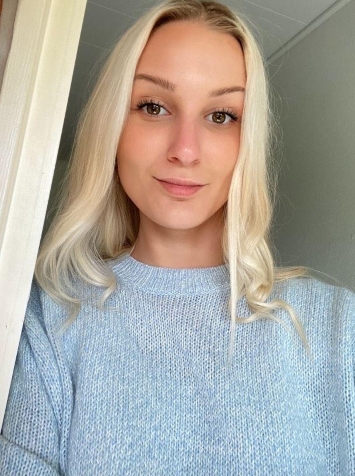Carina Sofie Skjoldborg. Privatfoto.