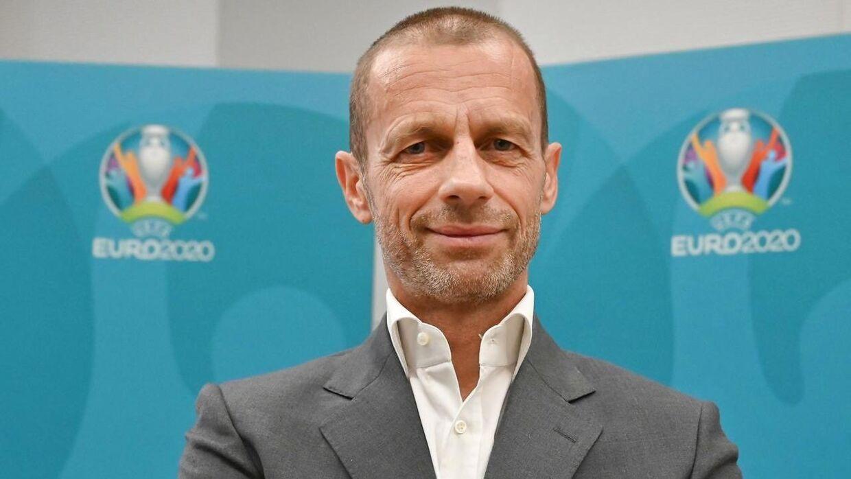 UEFA præsident Aleksander Ceferin.