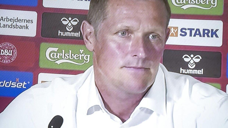 DBUs fodbolddirektør Peter Møller.