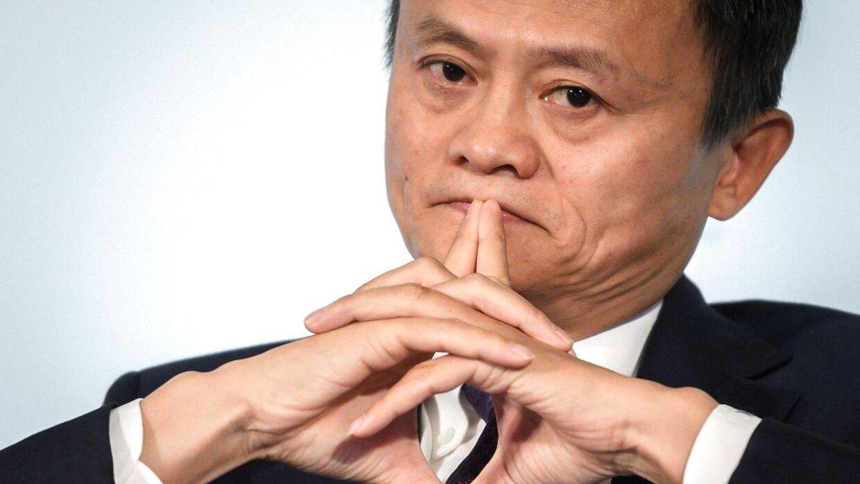 Alipay-sifteren Jack Ma.