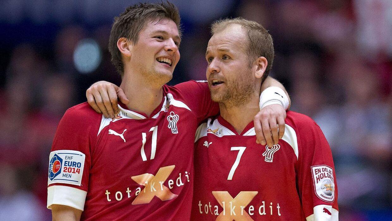 Anders Eggert nåede mange kampe på det danske landshold.