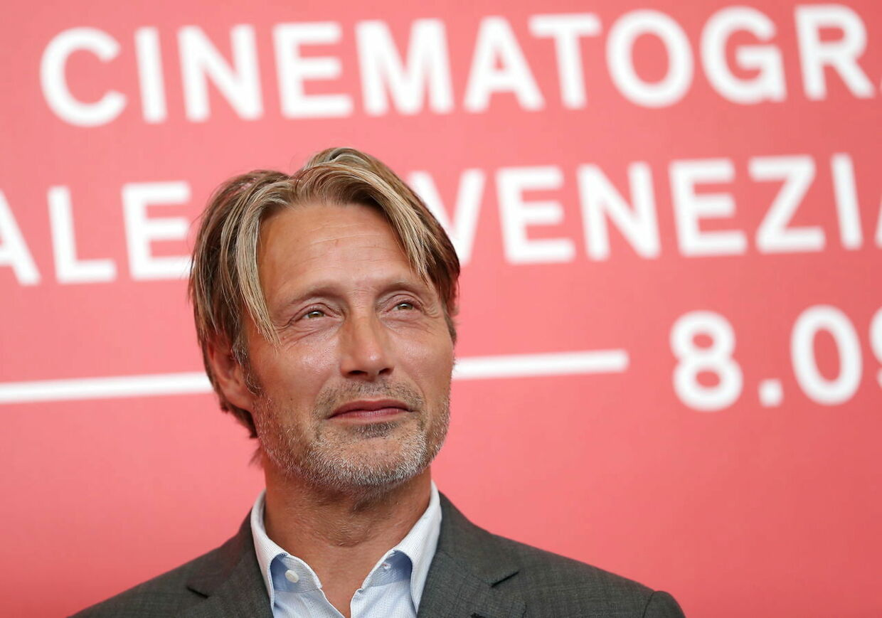 """FILE PHOTO: The 75th Venice International Film Festival - Photocall for the film """"At Eternity's Gate"""" competing in the Venezia 75 section - Venice, Italy, September 3, 2018. Actor Mads Mikkelsen. REUTERS/Tony Gentile/File Photo"""