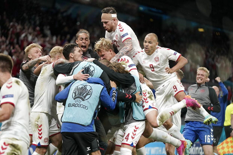 Kæmpe dansk jubel!