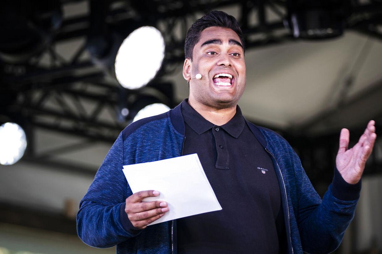 Sikandar Siddique har endnu ikke udtalt sig om episoden. Foto: Scanpix